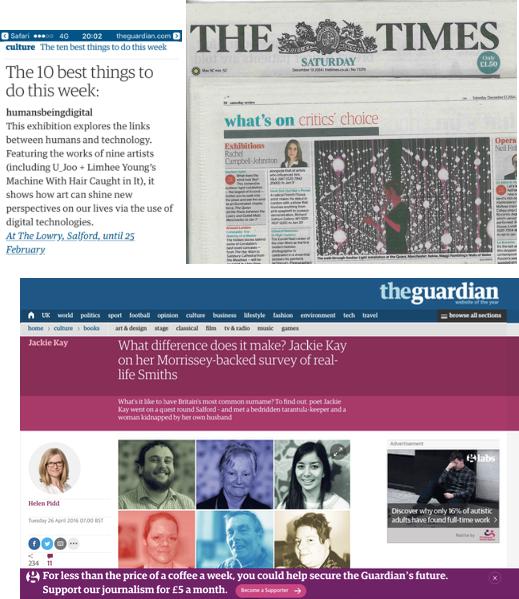 Times & Guardian x 2